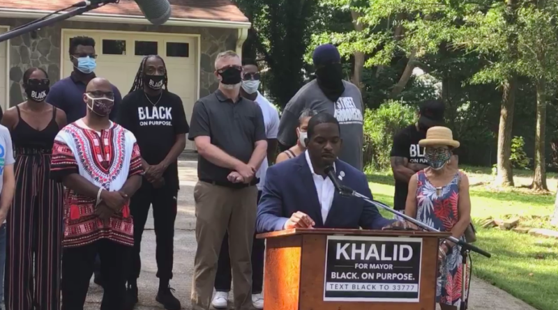 khalid kamau runs for mayor of south fulton