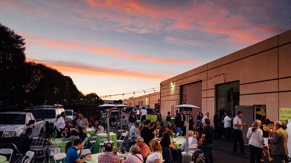 Paint the Town Guests Enjoy a Pleasant Evening in San Jose