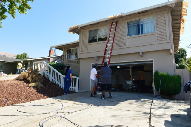 RTSV Volunteers Repairing Home