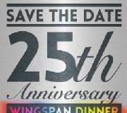 Wingspan Annual Dinner set for September 21st