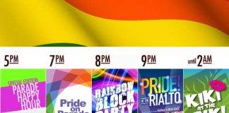 Gay Pride Friday Night in Downtown Tucson