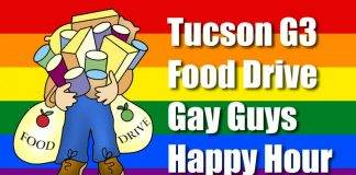 November G3 Gay Guys Happy Hour Thanksgiving Food Drive