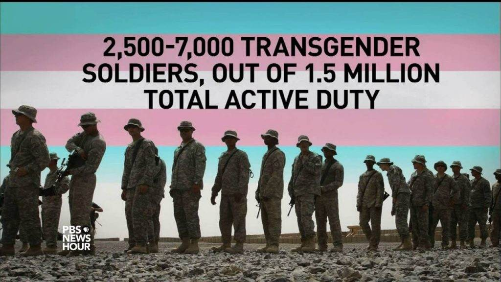 Transgender Soldiers Currently Serve in the Military