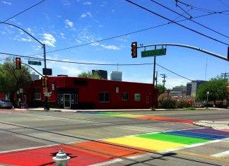 Rainbow Crosswalks