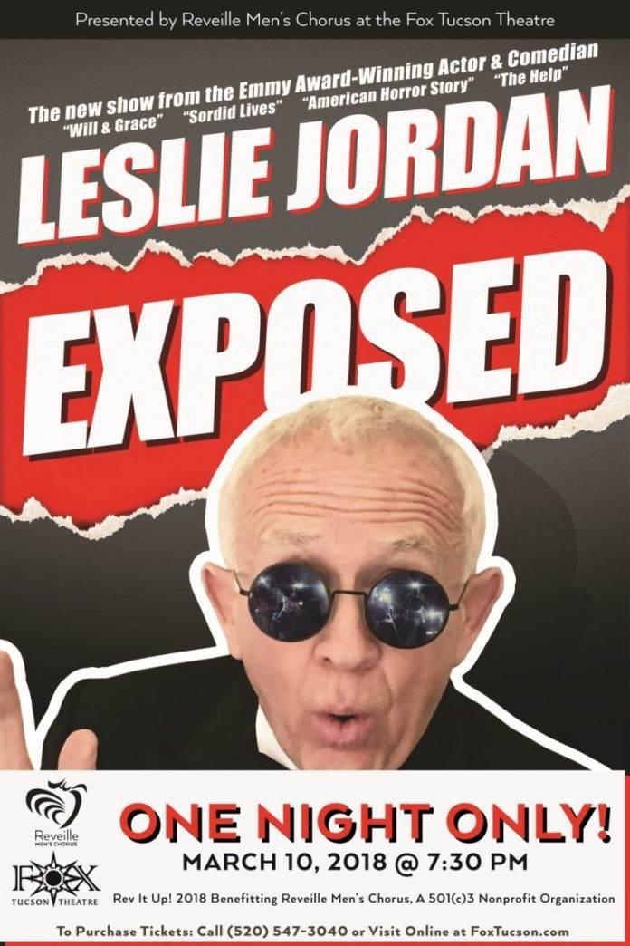 Rev It Up - Leslie Jordan Exposed - Reveille Mens Chorus