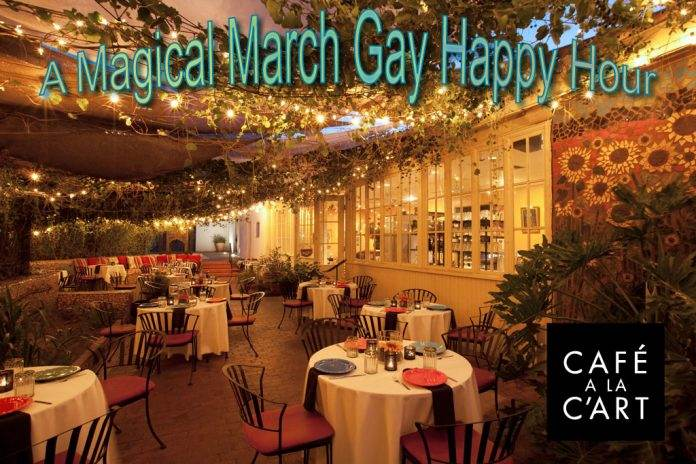Tucson's Only Gay Happy Hour G3 March 2018 is Back With An Artistic Flair