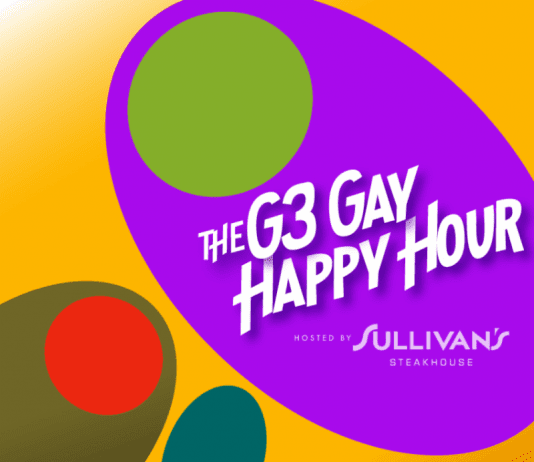 April 2018 Gay Happy Hour G3 at Sullivan's Steakhouse