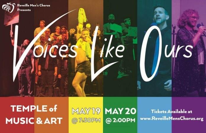 Voices Like Ours Concert - Reveille Men's Chorus