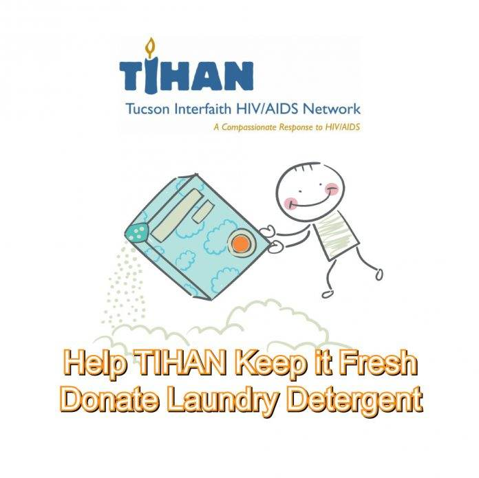 Donate Laundry Detergent To TIHAN