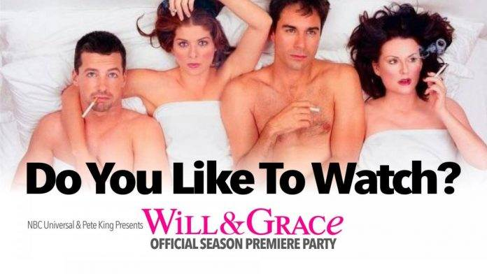 Will and Grace Season 2 Premiere Party