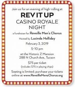 REV IT Up - Casino Royale Night Flyer