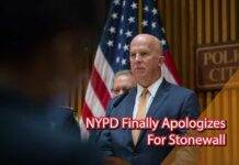 NYPD Finally Apologizes for Stonewall