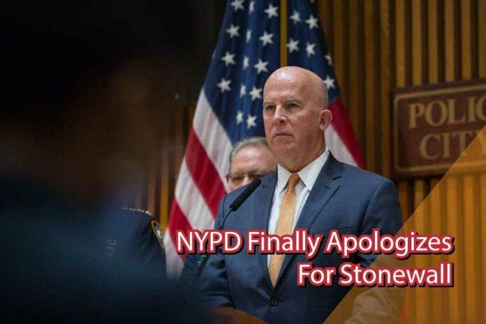NYPD Finally Apologizes for Stonewall
