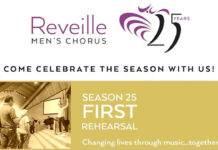 Reveille Men's Chorus Season 25