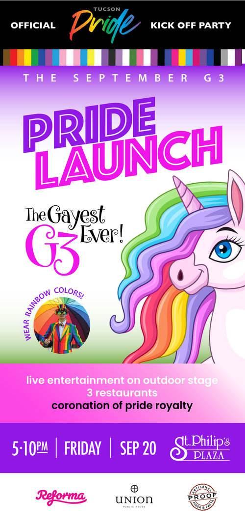 G3 Tucson Pride Launch Party