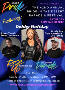 Tucson Pride in the Desert Festival 2019
