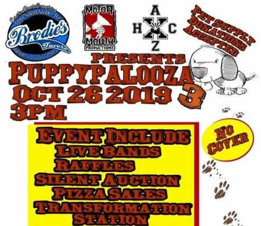 Puppy Palooza 3 at Brodie's Tavern