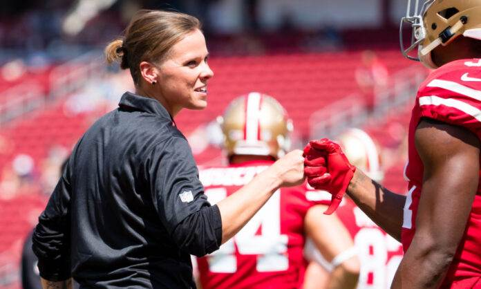 Katie Sowers is First LGBTQ Football Coach in Super Bowl History