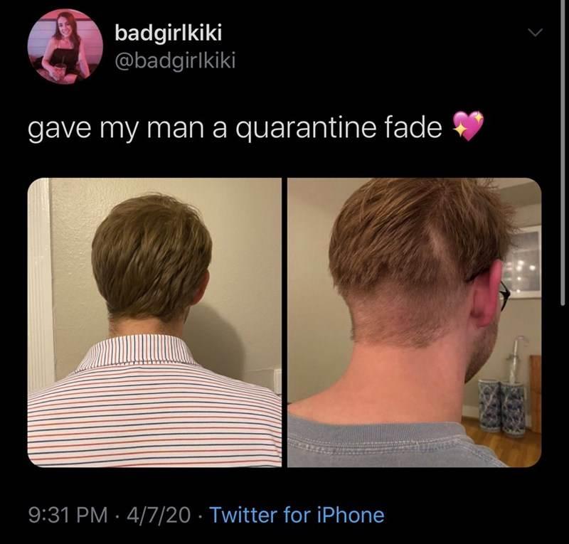 COVID Home Haircut Fails