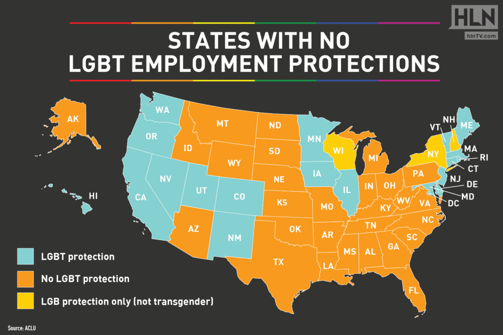 LGBT Employment Protections Come To These States