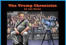 Local Artist Lee Balan Captures The Zeitgeist in The Trump Chronicles