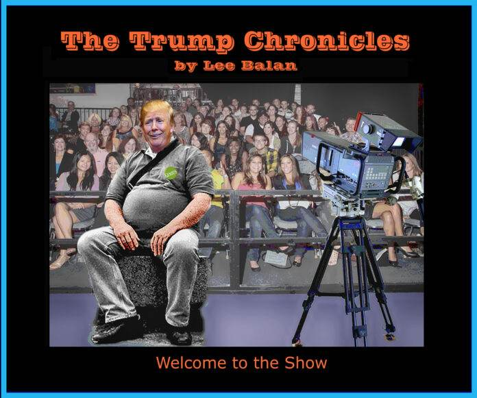 Local Artist Lee Balan Captures The Zeitgeist in The Trump Chronicles