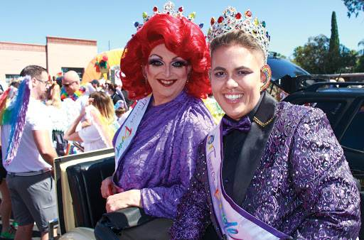 Tucson Pride 2020 Virtual Hosts Lucinda Holliday and Justin Deeper-Love