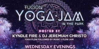 Tucson Yoga Jam in Park