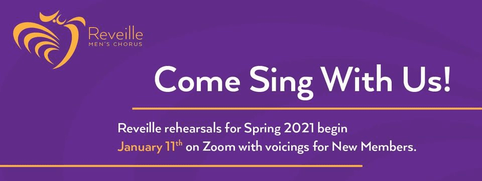 Come Sing With Reveille Men's Chorus in 2021
