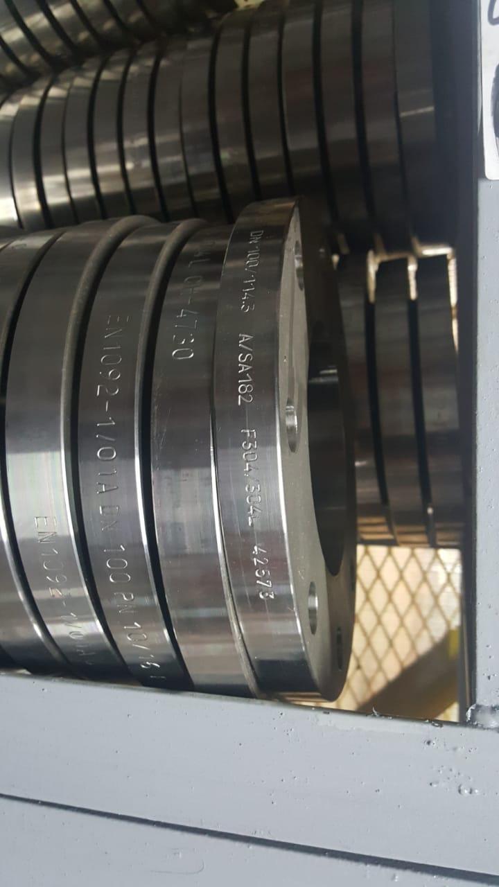 Bride plate inox 304L , 316 L