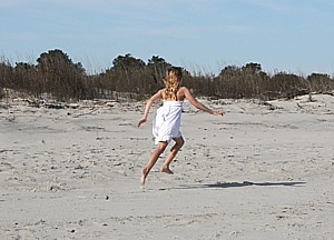 Beaches are a major lure to Sapelo Island © 2015 Karen Rubin/news-photos-features.com