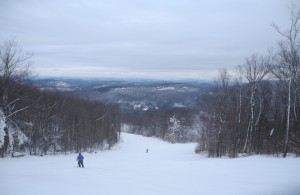 Gore Mountain offers skiing amid the magnificent Adirondack wilderness © 2015 Karen Rubin/news-photos-features.com