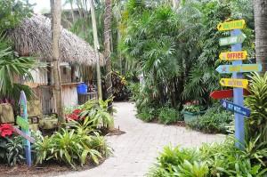 Crane's Beachhouse has a quirky, colorful, Key West feel © 2015 Karen Rubin/news-photos-features.com