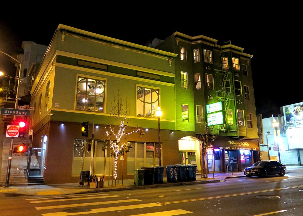 The Green Tortoise Hostel in hip North Beach district captures the San Francisco vibe © 2015 Karen Rubin/news-photos-features.com