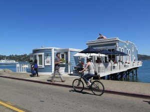 Biking in Sausalito© 2015 Karen Rubin/news-photos-features.com