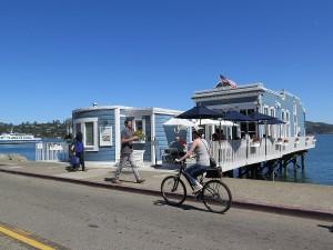Biking in Sausalito© 2015 Karen Rubin/news-photos-features.com