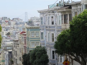 San Francisco's hills make it an improbable place to build a city © 2015 Karen Rubin/news-photos-features.com