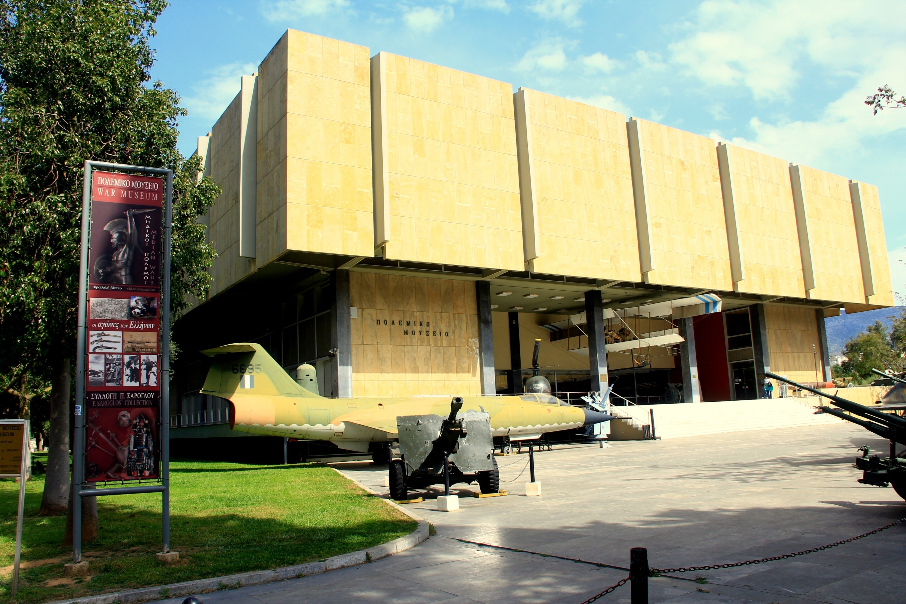The Athens War Museum – A Walk Through the Pantheon of Ancient Military History