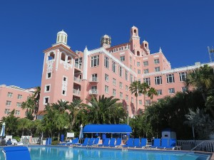Tthe Loews Don CeSar, a historic resort © 2016 Karen Rubin/news-photos-features.com