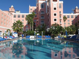 Tranquil setting at Loews Don CeSar © 2016 Karen Rubin/news-photos-features.com