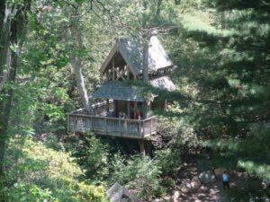 Hidden Hollow at Heritage Museum & Gardens is more than a tree house, but an outdoor education center © 2016 Karen Rubin/news-photos-features.com