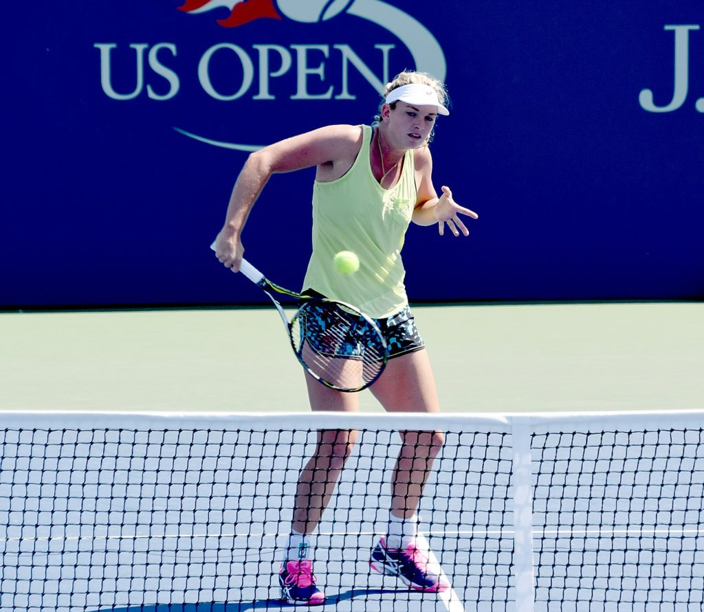 Coco Vandeweghe of the USA is seeded 28 in the US Open © 2016 Karen Rubin/news-photos-features.com