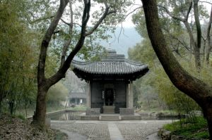 The Lanting (Orchid) Pavilion, in Shaoxing © 2016 Karen Rubin/goingplacesfarandnear.com.