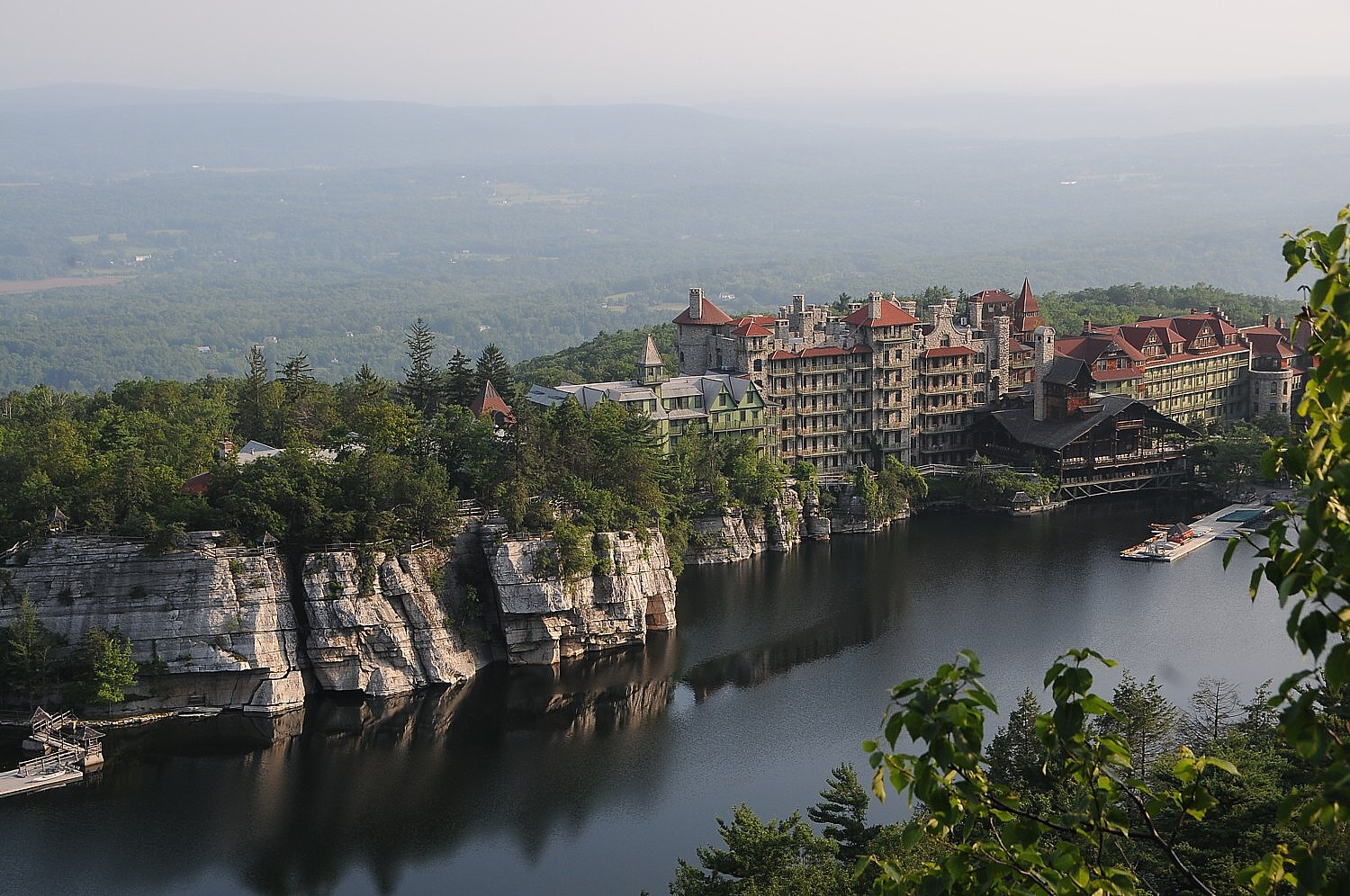 Mohonk Mountain House (1869) New Paltz, New York, still owned and managed by the Smiley Family, is a finalist for Legendary Family Historic Hoteliers of the Year © 2016 Karen Rubin/goingplacesfarandnear.com