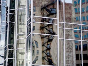 Old reflected in new in Pittsburgh © 2016 Karen Rubin/goingplacesfarandnear.com