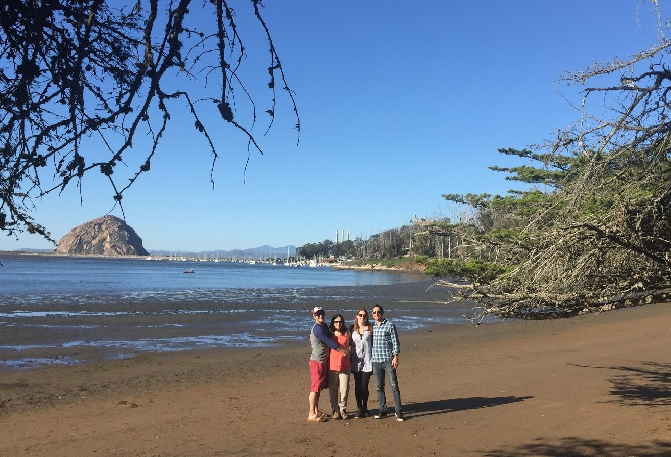 Four Friends and a Babymoon in Morro Bay on California's Highway 1