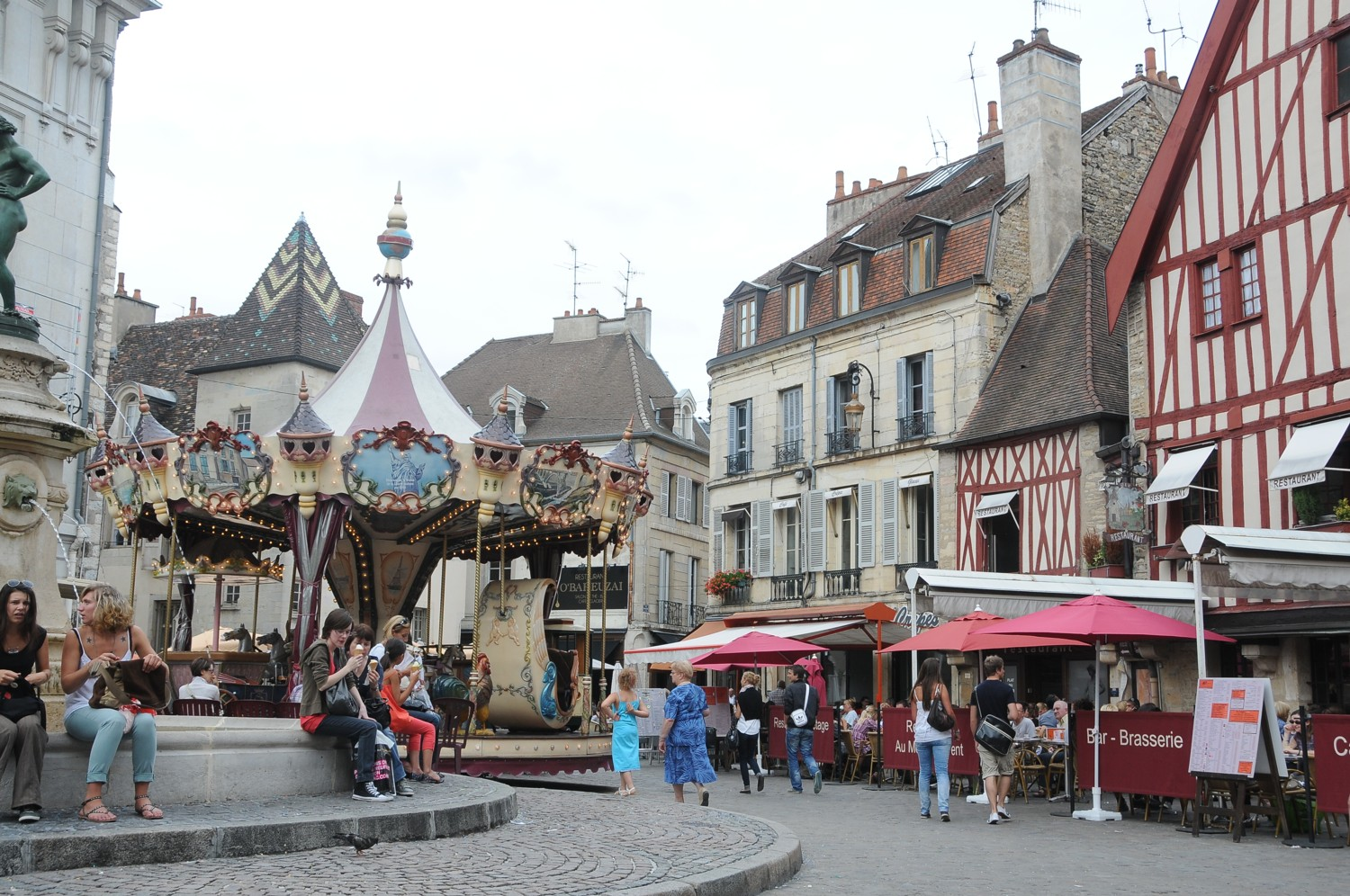 Barging through Burgundy, Day 5-6: Walking Tour of Dijon's Old City