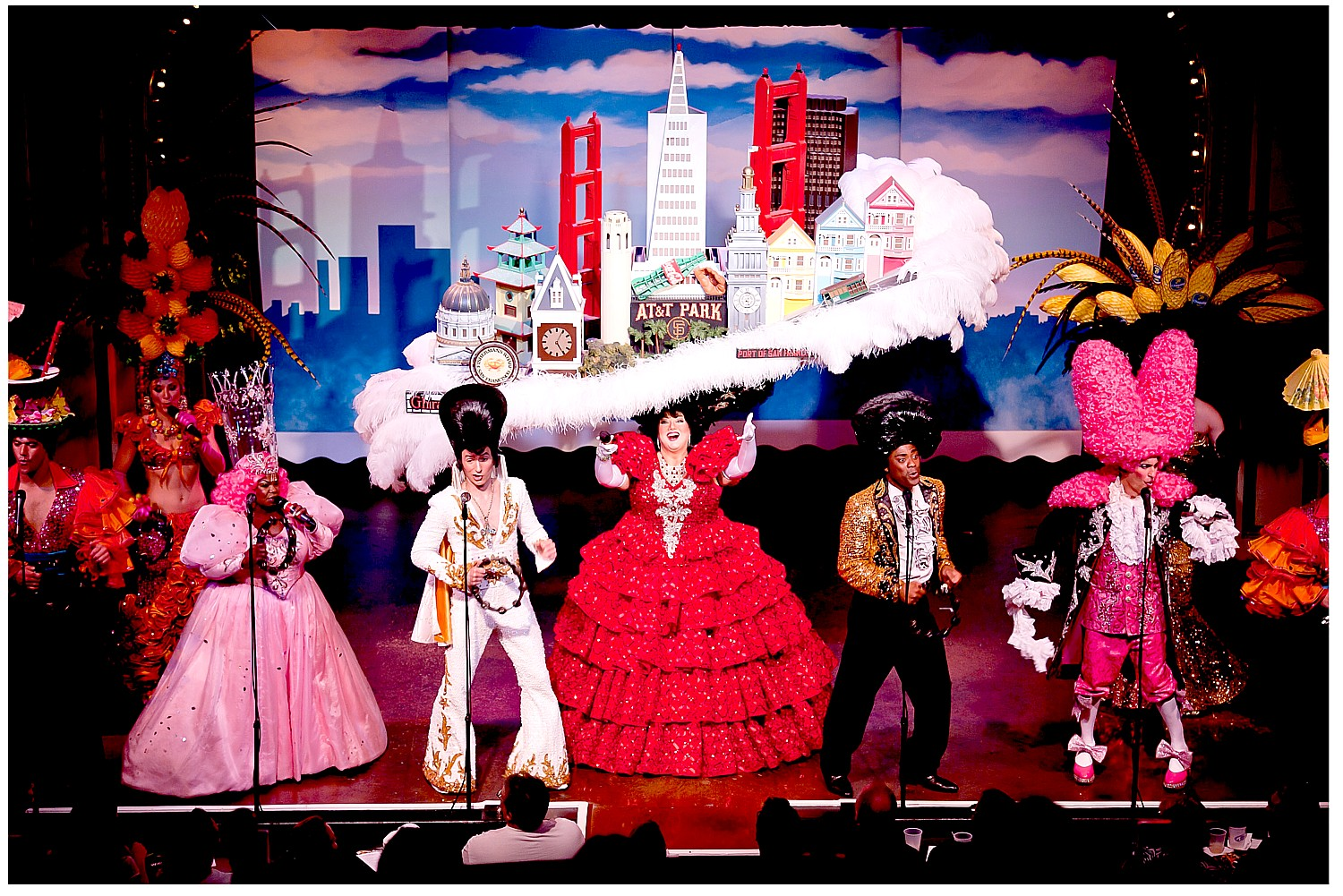 Beach Blanket Babylon is Rollicking Fun Musical Revue in San Francisco's North Beach