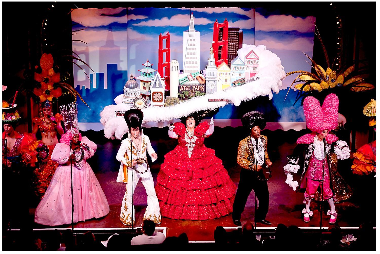 Beach Blanket Babylon is Rollicking Fun Musical Revue in San Francisco's North Beach