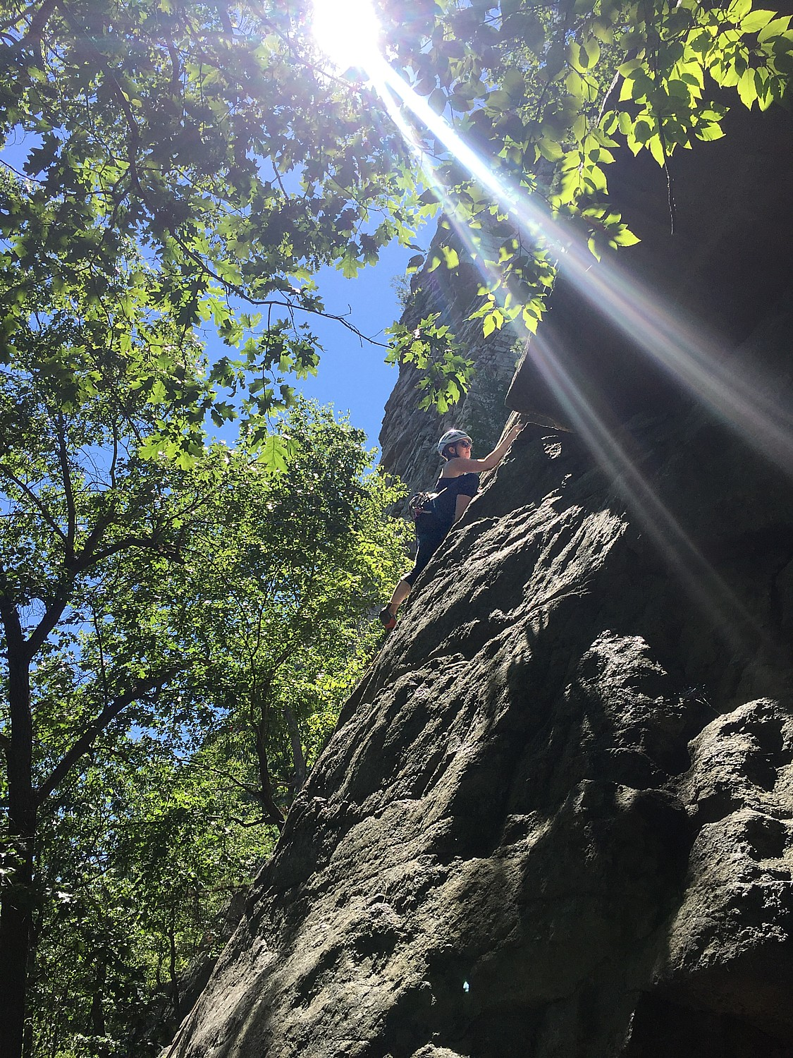 A Day in The Gunks: Out of the Gym, Ascending New Heights of Rock Climbing